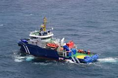 Linde-G (Chickenhawk72) Tags: holland ship offshore gas rig total denhelder drilling jackup standbyvessel noblealwhite