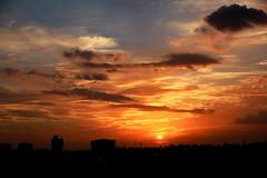 Sunset (subhashish.paul) Tags: light sunset sky cloud sun india nature canon landscape evening bangalore top20sunsetsofourhearts canon550d mygearandme me2youphotographylevel2 me2youphotographylevel1