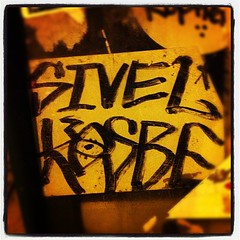 SIVEL x KOSBE (billy craven) Tags: chicago graffiti sticker d30 handstyles slaptag sivel cosbe csby kosby kosbe uploaded:by=instagram