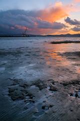 Oakland Sunset, 8 November (Denis Lincoln) Tags: sunset nature canon landscape 24mm ssc fd 24mm28 xpro1 fujixpro1