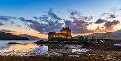 Sunset at Eilean Donan Castle