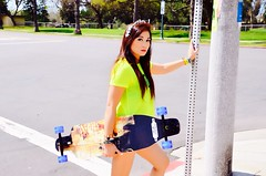Shredz Longboards / Model: Hazel Atarashi (Robert_Candelaria_Photography) Tags: california park model san diego hazel balboa longboards atarashi shredz