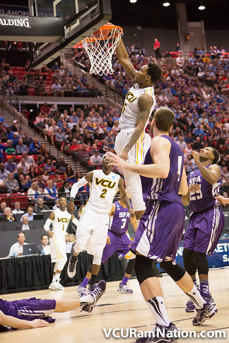 VCU vs. SFA (NCAA Tournament Round 2)