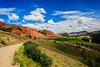 Red Hills - Wyoming (Jackpicks) Tags: red west hills wyoming bridgerteton redhills