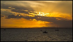 Sunset over Deception Bay-4=