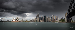 Stormy Sydney (Mike Hankey.) Tags: published cityscape harbour sydney legacy fleetreview