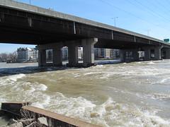 Sainte-Anne rapids (Quevillon) Tags: bridge canada river montral rivire rapids qubec ottawariver riviredesoutaouais sainteannedebellevue galipeaultbridge sainteannerapids rivireduqubec