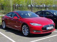 2014 Tesla Model S (harry_nl) Tags: netherlands models nederland tilburg tesla electriccar 2014