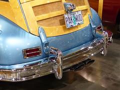 1948 Packard (bballchico) Tags: 1948 wagon custom portlandoregon stationwagon packard 2014 woodie surfwagon portlandroadstershow pakwud ronclinton