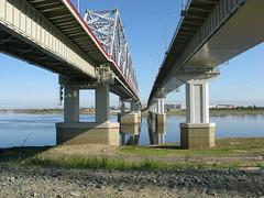 Мостовой переход через Юганскую Обь, Нефтеюганск