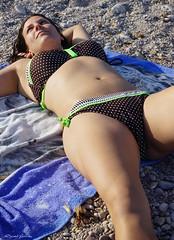 ltimos rayos del da (lagunadani) Tags: portrait sexy playa sensual retratos bikini chicas baador villajoyosa playadeltorres sonya7