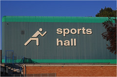Dolphin Sports Hall, Bromsgrove (alanhitchcock49) Tags: park sports car club digital photography dolphin centre may 16 worcestershire 2016 bromsgrove webheath