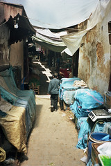 Around (michel nguie) Tags: africa street boy urban film vertical analog way kid path walk fez marocco souk medina fes chil fs michelnguie babrcif