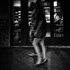 Everyday Adelaide No. 249 (Autumn/Winter) East Terrace (michelle-robinson.com) Tags: life street nightphotography bw blur monochrome photography blackwhite legs streetphotography documentary australia streetlife 11 motionblur smartphone squareformat heels adelaide streetphoto everyday society southaustralia iphone mobilephotography phoneography michellerobinson capturinglife flickrelite iphonephoto shotwithiphone iphoneography iphonephotoapps shotoniphone 4tografie procameraapp smartphonephotography snapseed vscocam michmutters shotoniphone6plus shotwithiphone6plus everydayaustralia