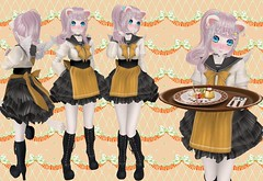 Maid To Order (SerenitySemple) Tags: party food anime fashion furry uniform cosplay free event secondlife gift kawaii sweets sailor maid due gacha mokyu barerose lovesoul animehead utilizator cubiccherrykreations cubiccherry kreaokujisawa kawaiiproject