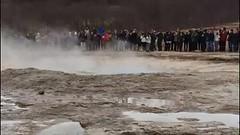 Geyser on the Golden Circle (gmorient1@aol.com) Tags: iceland reykjavik geyser goldencircl