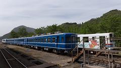 Pink SL at Wakasa Railway (3) (double-h) Tags: tottori  eos6d ef2470mmf4lisusm  wakasarailway  wakasastation