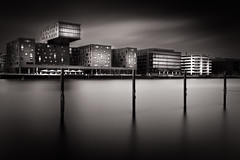 Berlin V (philippdase) Tags: longexposure blackandwhite berlin germany fineart osthafen eastharbor nikond7100 fineartarchitecture sigma1835mm18 philippdase