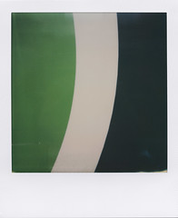 Curvy 1 (ale2000) Tags: verde green geometric lines analog 600 instant analogue minimalism minimalistic impossible i1 instantphotography minmal linee analogico minmalismo