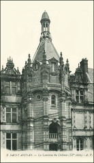 4891 R Saint-Aignan-sur-Cher 9. Saint-Aignan (Loir-et-Cher) - La Lanterne du Chteau XVe sicle - A. P. (Morton1905) Tags: lanterne la 9 du r p chteau loiretcher sicle saintaignansurcher 4891 a xve saintaignan