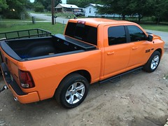 IMG_3697 (Smalltowntx87) Tags: orange sport cab wheels pickup automotive semi tires crew american dodge plus trucks washed hemi ram 1500 v8 detailed ignition iphone 2015 6s 57l