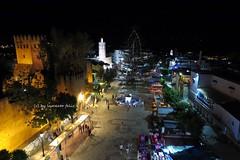 La Plaza de Uta El-Hamman Chefchaouen.Marruecos. (lameato feliz) Tags: plaza torre medina chefchaouen marruecos