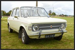 Not rusty?? (SemmyTrailer) Tags: show classic car fiat nz waikato 128 teawamutu