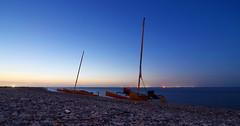 Night Watch (chadbach) Tags: ocean camping camp water island bay boat sailing texas shell adventure 200 sail tandem oyster hobie 2016