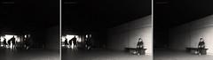 1x3 (pamo67) Tags: people bw woman monochrome silhouette blackwhite donna waiting moments triptych sitting shadows bn ombre persone tris contrasts seduta attesa momenti contrasti trittico pamo67 pasqualemozzillo cutsandtrimmings