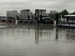 (photogreuhphies) Tags: seine boat flood bateau crue alfortville
