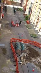 20160609_141821 (Carol B London) Tags: tarmac courtyard charcoal e1 wedge sgc ids stepney londone1 stepneygreen newlayout newsurface charcoalbricks steneygreencourt wedgeengineering