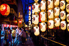 The season is coming (Kyoto) (Marser) Tags: japan kyoto raw  gr nightview lantern ricohgr lightroom gionfestival  grd