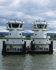 Tidewater Barge Lines RYAN POINT & GRANITE POINT (Chuck Stephens) Tags: columbiariver tugboat tug tugs tugboats vancouverwashington workboats granitepoint theothervancouver columbiarivertugs 367667060 wdh9342 ryanpoint 367719170
