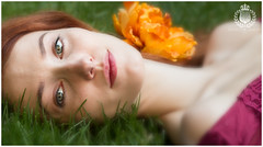 FP__20160619-IMG_3505 (royston_f01) Tags: flowers trees summer portrait blur nature gardens forest pretty outdoor lawn naturallight redhead fairy greenery dreamy serene summerdress daria whimsical demure fanciful tahereh redheadmodel