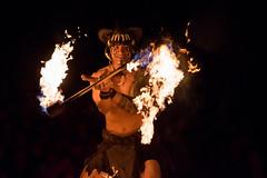 Festival of the Lion King, Fire Twirler (Nickb223) Tags: world show animal festival fire king lion kingdom disney twirl walt twirler