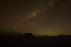Milkyway above Mt. Bromo (shizham) Tags: park national bromo tengger milkyway
