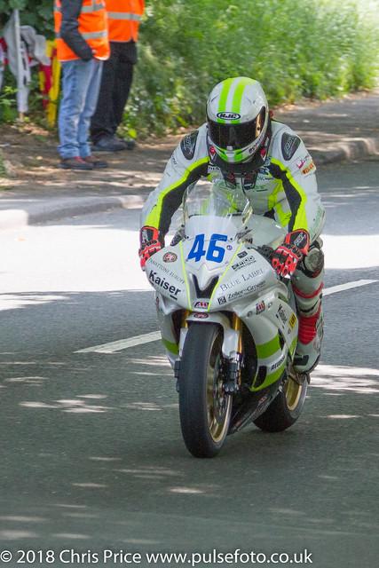 IOM TT Supersport Race 2 8th June 2016
