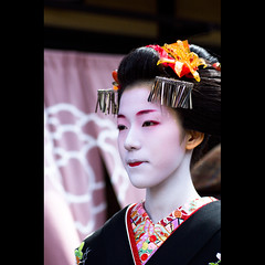 (Masahiro Makino) Tags: japan photoshop canon eos kyoto maiko adobe    gion congratulations tamron 90mm f28 lightroom  60d misedashi kobu   eriha    20120319123205canoneos60dls640p