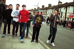West Ham 2, Reading 4 (Herschell Hershey) Tags: street men london boys football samba lads fans adidas olas seller eastend irons flatcap fanzine casuals overlandandsea