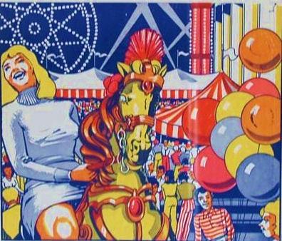 Carnival poster 1960s 1