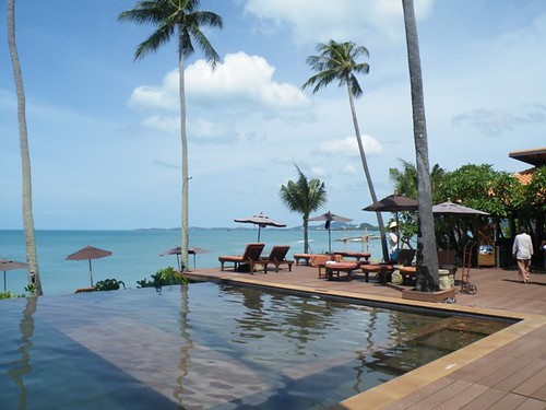 A pool with a view, Mae Nam Beach, Ko Samui, Thailand