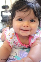i know i'm adorable! (butterflyashes) Tags: baby daughter 6months kaelyn sixmonthsold infantsmile kaelynrose