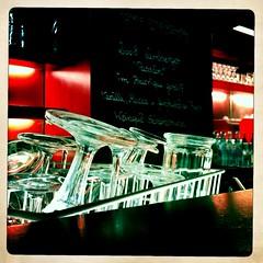 Closing time impressions (the tomographer) Tags: red glass bar wine heilbronn vinum