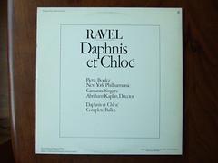 Backside Ravel - Daphnis & Chloe - NY Phil., Pierre Boulez, CBS 76425 (Piano Piano!) Tags: backside bacsideraveldaphnischloenyphil pierreboulez cbs76425 lp record collection cover art vinyl sleeve hoes 60s 70s 12inch 33t langspeelplaat platte