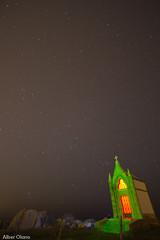 Panteon del Ingles 3 (@lber Olano Andres) Tags: verde nova del canon noche rojo ii 200 7d estrellas panteon 100 ingles 70 nocturnas f28 escaleras 1022 cantabria manfrotto rc1 lowepro x2 cueto 2470 322rc2 estacas 055xpro