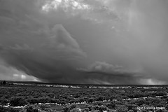 Spring Storm Hits the Mesa - Explore (Michael Guttman) Tags: storm newmexico clouds nikon taos mesa darkclouds stormclouds d90 springstorm michaelguttman goatcrossingimages