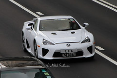 Lexus LFA, Causeway Bay, Hong Kong (Nikhil Sadhwani - Photography) Tags: china road morning hk money cars car metal speed canon photography hongkong eos drive photo amazing cool movement automobile shiny asia flickr doors ride awesome flash snapshot wheels rich machine fast snap voiture explore exotic transportation 7d stunning vehicle driver motor hyper expensive streetcar quick limited luxury rare causewaybay exclusive supercar automobiles spotting sar lfa motorized exotica lexus horsepower driven fastcar luxurycar motorcar accelerate acceleration hypercar worldcar worldcars sundaymorningdrive highvalue photos2012