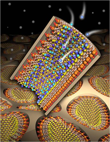 SAMMS Nanoporous Material