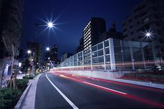 untitled (Noisy Paradise) Tags: road leica city longexposure light urban film japan night tokyo f45 epson fujifilm  fujichrome provia m6 21mm carlzeiss  biogon zm  japanatnight rdpiii v750m  gtx970 noisyparadise cbiogont4521