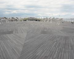 Complex perspective (tetsuo5) Tags: yokohama 横浜 portra400 大桟橋 gf670 largepier 鯨の背中 backofthewhale